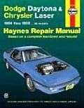 Dodge Daytona & Chrysler Laser Repair Manual 1984 1989