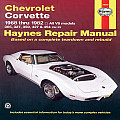 Chevrolet Corvette 1968-1982 All V8