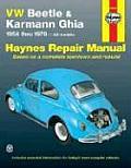Volkswagen Beetle Karmann Ghia 1954 1979