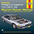 Acura: Integra & Legend 1986-1990