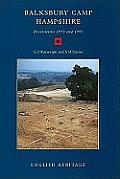 Balksbury Camp, Hampshire: Excavations 1973 and 1981