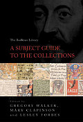 The Bodleian Library: A Subject Guide to the Collections