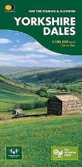 Yorkshire Dales: Map for Touring and Planning