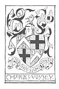 Bookplates & Badges of C F A Voysey Architect & Designer of the Arts & Crafts Movement