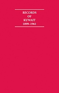 Records of Kuwait 1899 1961 8 Volume Hardback Set Including Boxed Maps and Genealogical Tables
