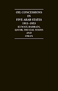 Arabian Gulf Oil Concessions 1911 1953 12 Volume Hardback Set