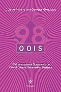 Oois'98: 1998 International Conference on Object-Oriented Information Systems, 9-11 September 1998, Paris Proceedings