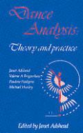Dance Analysis Theory & Practice