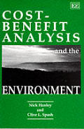 Cost-benefit Analysis and the Environment (93 Edition)