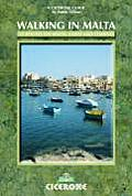 Walking in Malta: 33 Routes on Malta, Gozo and Comino (Mediterranean Walking)