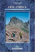 GR20: Corsica: The High-Level Route (Cicerone Guide)