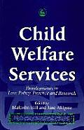 Child Welfare Services: Developments in Law, Policy, Practice and Research