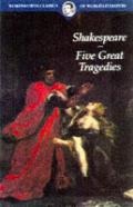Five Great Tragedies Wordsworth