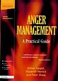 Anger Management A Practical Guide