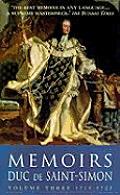 Memoirs Duc De Saint Simon Volume 3