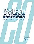 Bolton Twenty Years on: The Small Firm in the 1990s