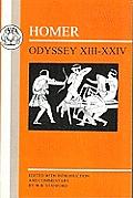 Homer: Odyssey: XIII-XXIV