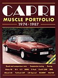 Capri Muscle Portfolio 1974-1987: Ford (European) Road Test Book