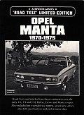 Opel Manta: 1970-1975