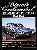 Lincoln Continental Performance Portfolio 1961-1969