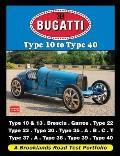 Bugatti Type 10 To Type 40: a Brooklands Road Test Portfolio
