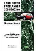 Land Rover Freelander 2001/2003 on Workshop Manual Service Procedures