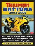 Triumph Daytona 2003-2009 (Road Test Portfolio)
