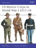 Us Marine Corps in World War I, 1917-1918