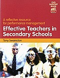 Effective Teachers in Secondary Sch