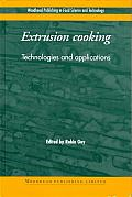 Extrusion: Technologies and Applications