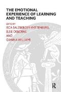 The Emotional Experience of Learning and Teaching (Routledge Education Books)