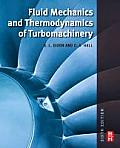 Fluid Mechanics & Thermodynamics of Turbomachinery 6th Edition