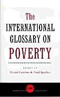 Poverty Glossary