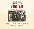 Forgotten Voices of the Great War: The Opening Shots: August 1914 - April 1915 (Forgotten Voices) Cover