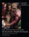Sixteenth Century Italian Paintings Volume II Venice 1540 1600