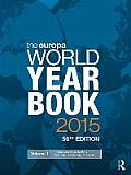 The Europa World Year Book, 2015