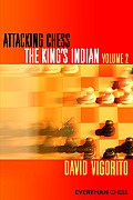 Attacking Chess: King's Indian, Volume 2 Cover
