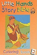 Little Hands Story Bible Coloring Book 2