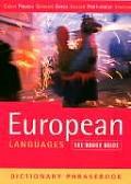 European Languages A Rough Guide Dictionary Phras