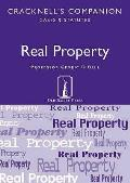 Real Property: Cases and Statutes