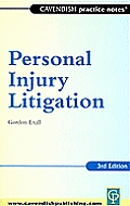 Practice Notes on Personal Injury 3/E