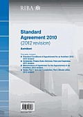 Riba Standard Agreement 2010 (2012 Revision): Architect (Pack of 10)