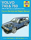 Volvo 740 & 760 1982 To 1991 Up To J Reg
