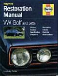 Haynes VW Golf & Jetta Restoration Manual