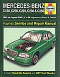 Mercedes-benz C-class Petrol and Diesel (1993-2000) Service and Repair Manual Cover