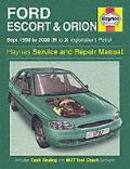 Ford Escort and Orion Service and Repair Manual: 1990-2000