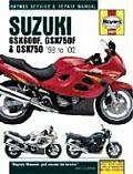 Suzuki Gxs600 750f 1998 2002