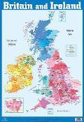 British Isles and Ireland Wall Chart