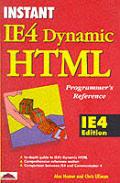 Dynamic HTML Programmer's Reference