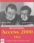 Beginning Access 2000 VBA with CDROM